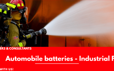 Automobile Battery – Industrial Fire Safety