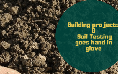 Building projects and soil testing goes hand in glove!