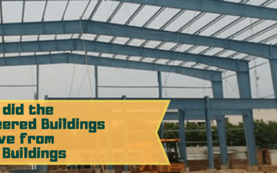 How did the pre-engineered buildings evolve from metal buildings