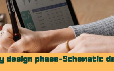 Preliminary design phase– Schematic developments