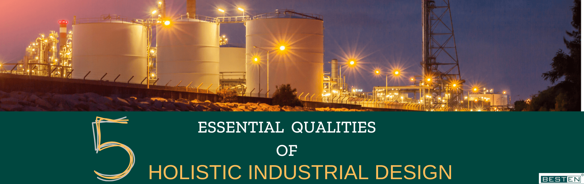 Holistic industrial infrastructure design