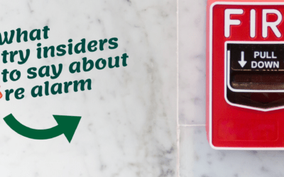What industry insiders have to say about fire alarm