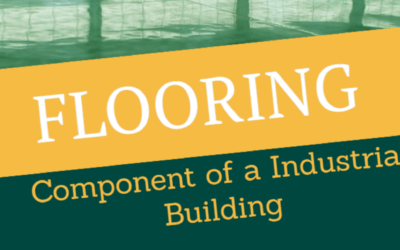 Flooring – An essential component of an Industrial building